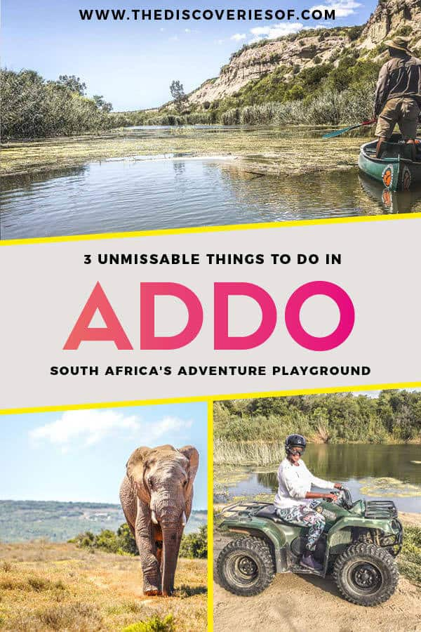 Addo Elephant National Park is one of South Africa's coolest adventure destinations. Here's why.. #adventure #travel #southafrica