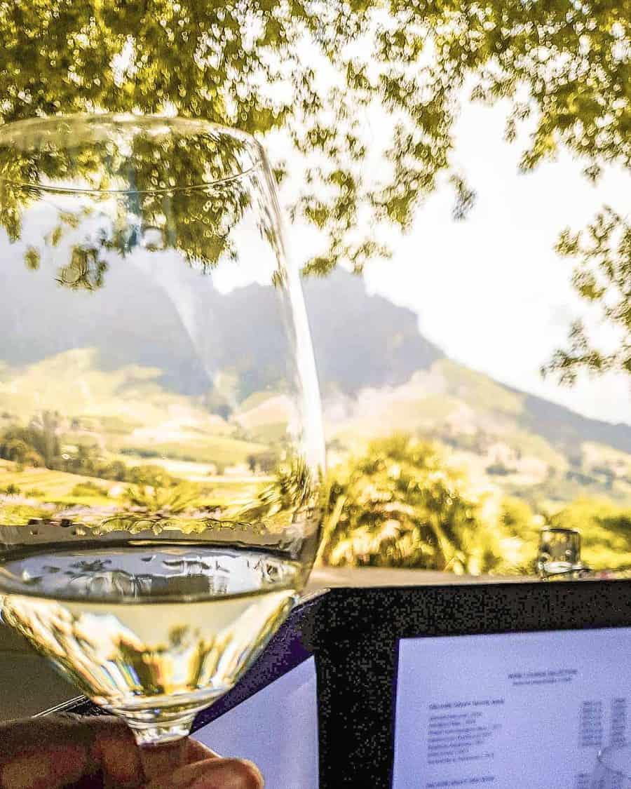 Visiting wineries in Stellenbosch - Delaire Graff
