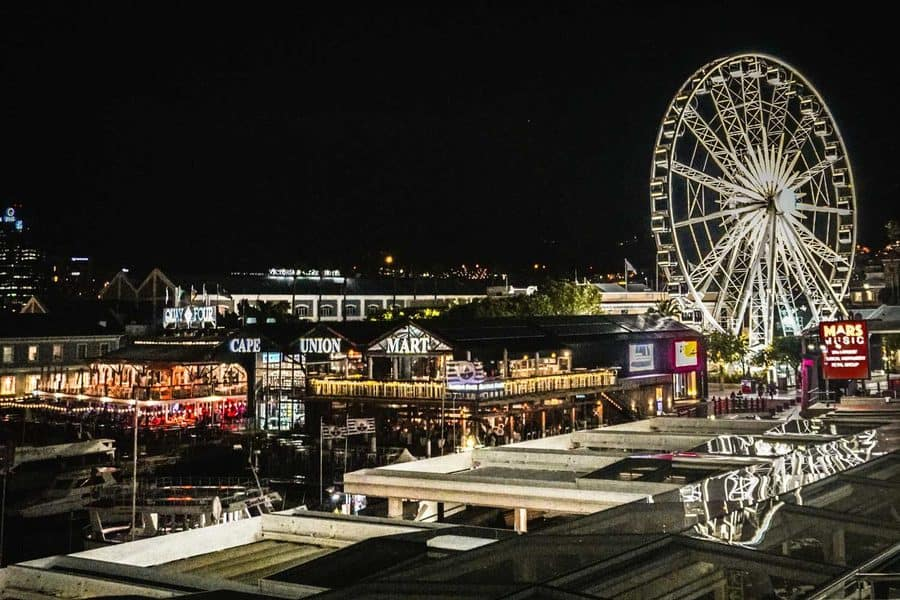 V&A Waterfront at Night, Cape Town