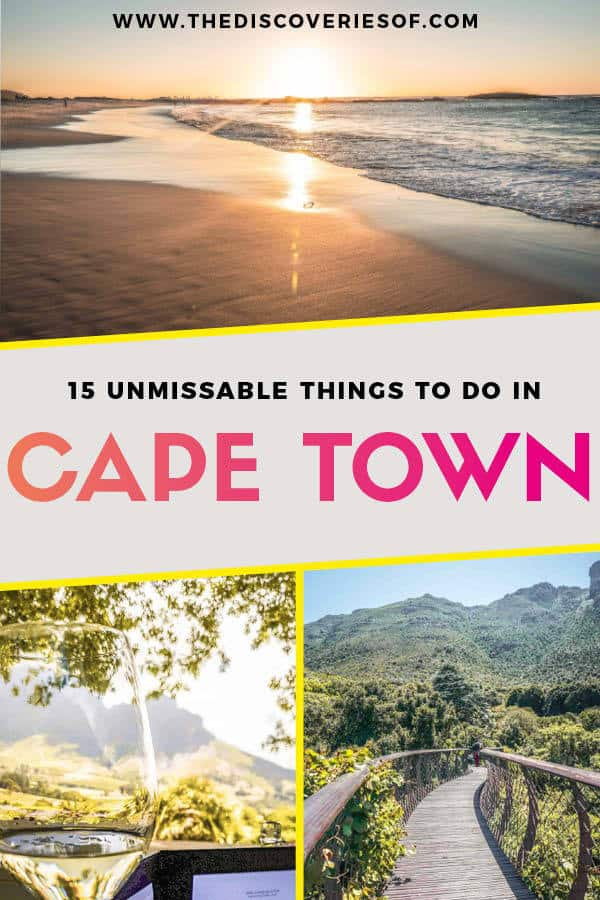 15 Things to do in Cape Town