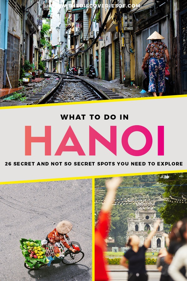 Discover the coolest things to do in Hanoi Vietnam with this handy guide. Fall in love with this crazy city. Read now #travel #asia #vietnam