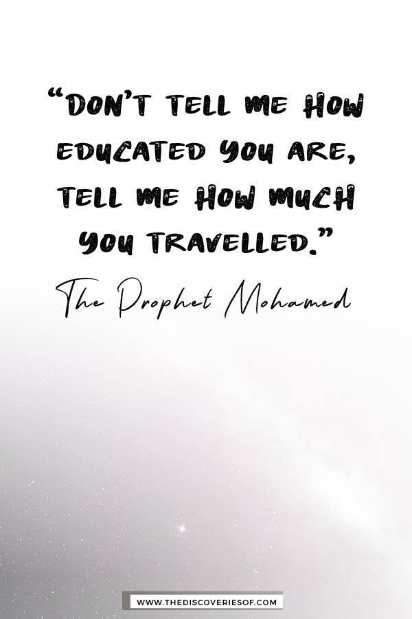 Don't Tell me - Prophet Mohamed