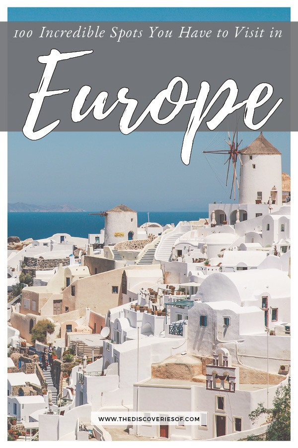 100 incredible spots to add to your Europe Bucket List - read now! #Europe #travel #bucketlist