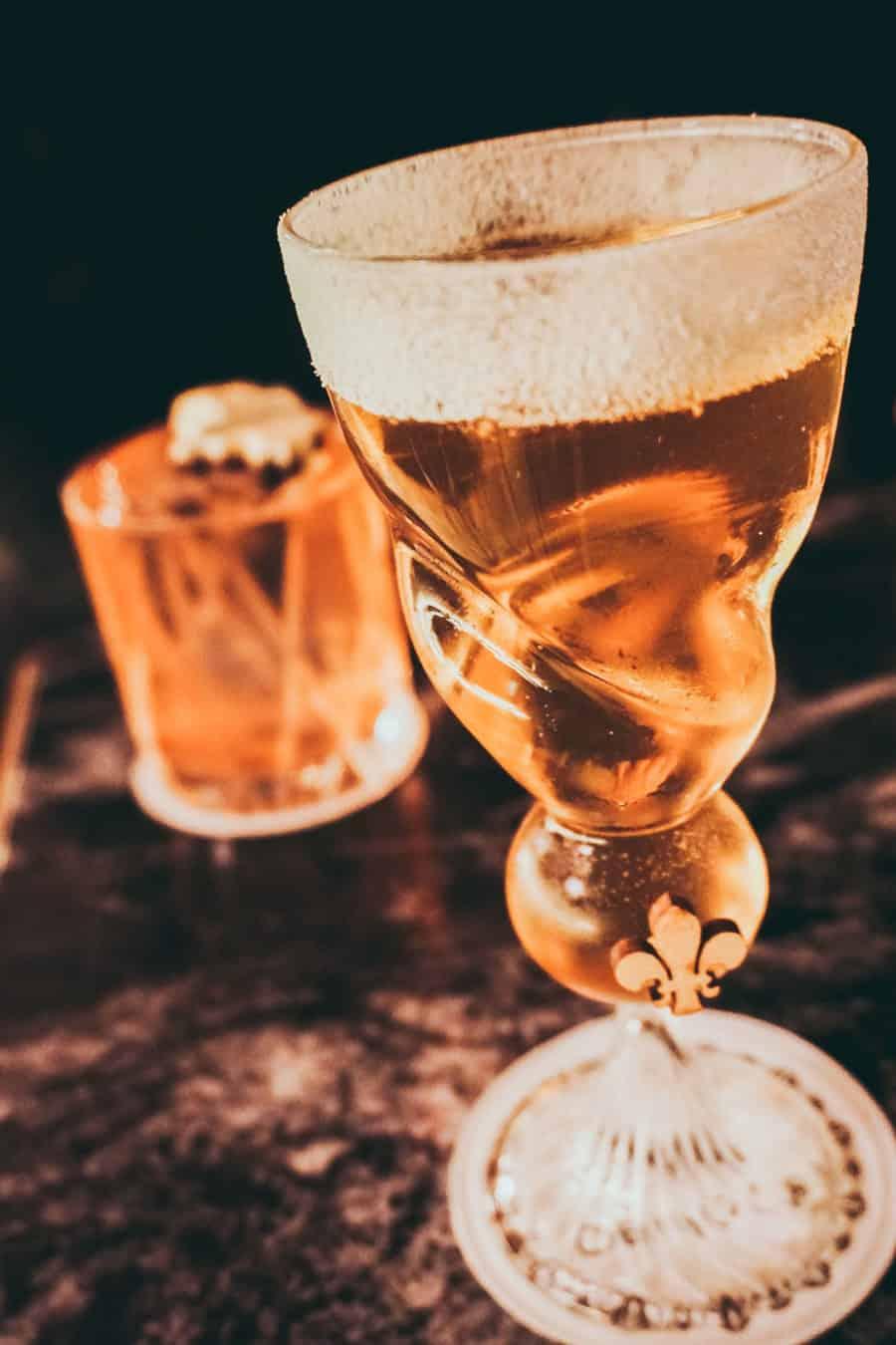 Cocktails at Oriole Bar Farrindon