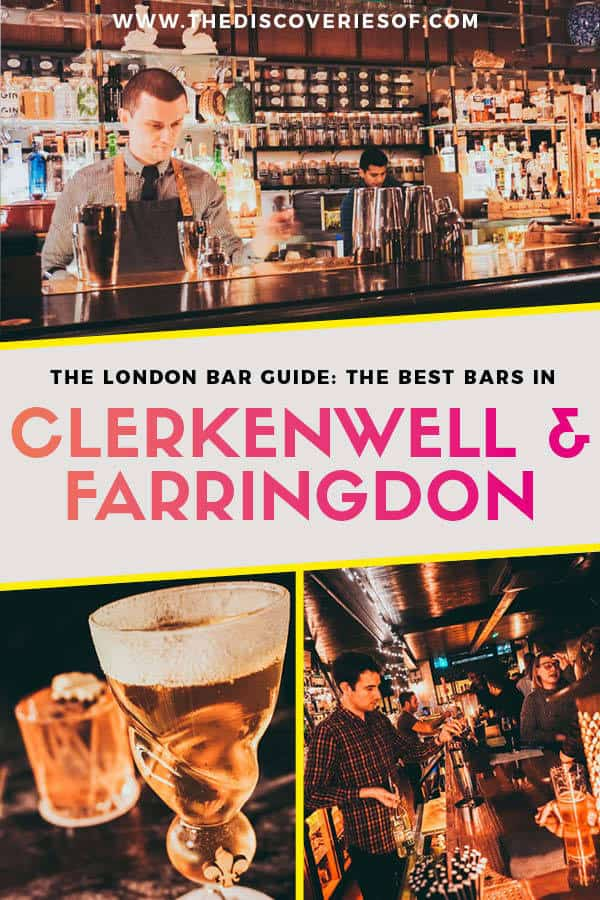 London bar guide: Clerkenwell + Farringdon
