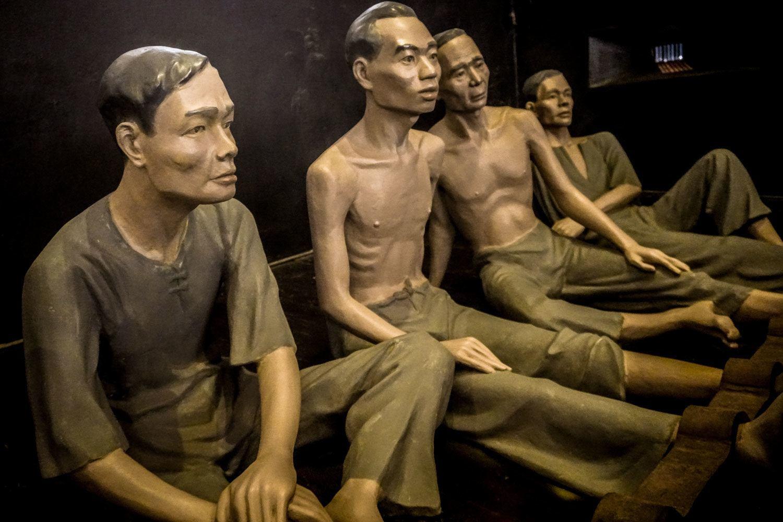 Hoa Lo Prison Museum - nicknamed the Hanoi Hilton