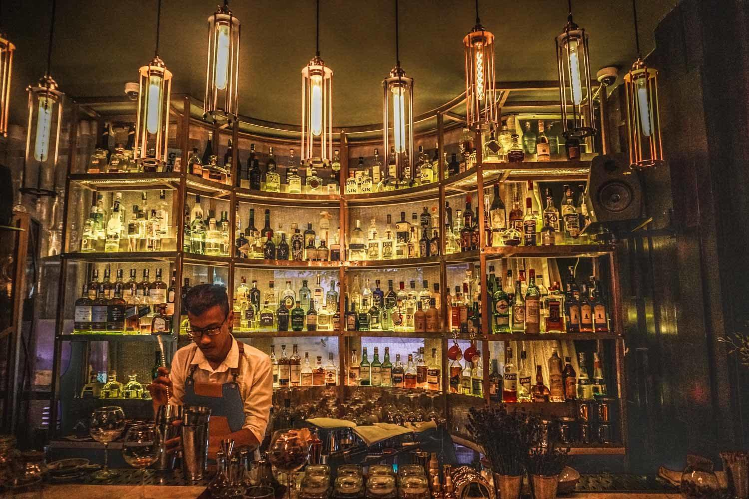 Mad Botanist Gin Bar