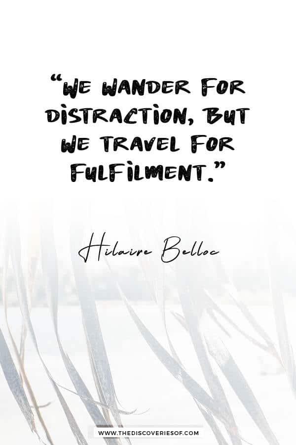 I wandered everywhere - Hilaire Belloc