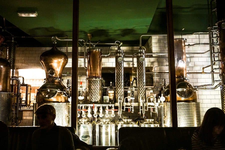 The City of London Distillery, St Bride's Lane