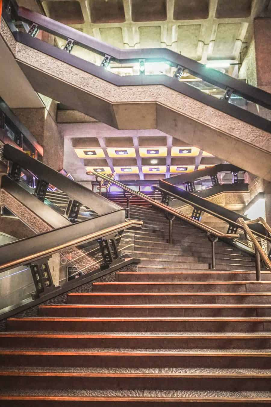 Inside the Iconic Barbican Centre, London