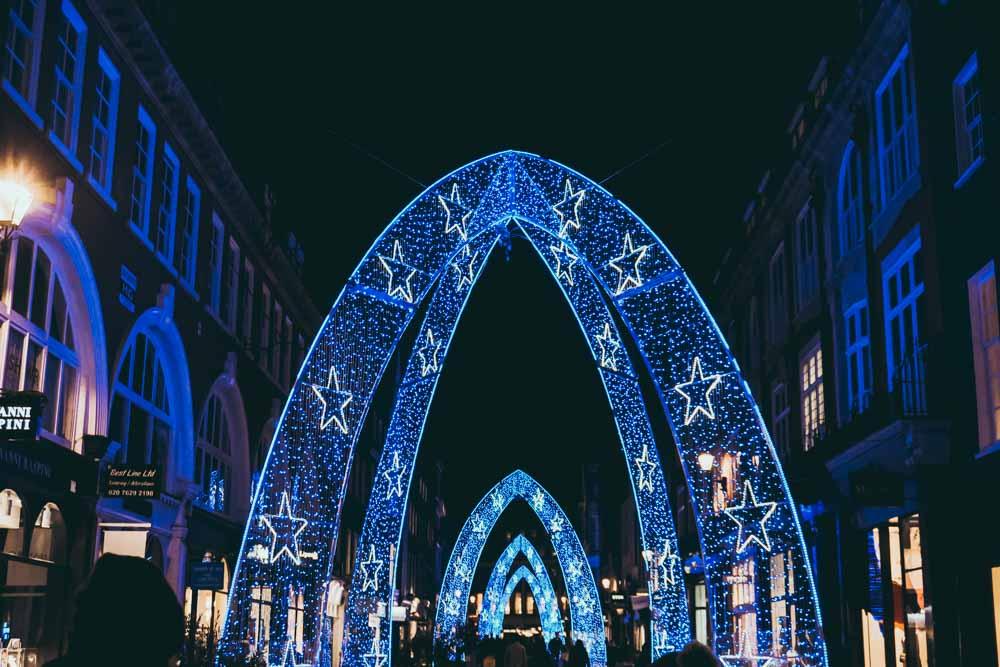 Christmas Lights on Bond Street