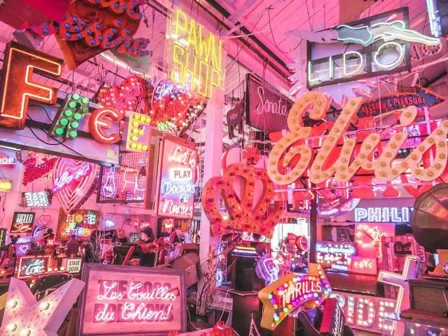 God's Own Junkyard Neon Museum Walthamstow
