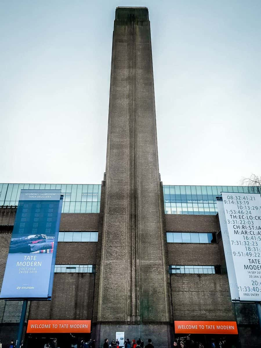 Tate Modern on the South Bank