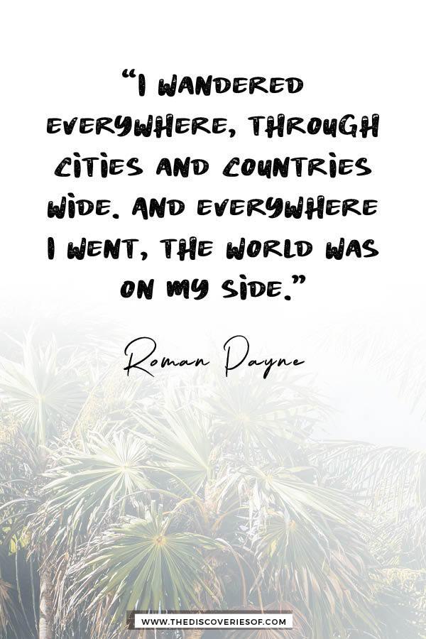 I wandered everywhere - Roman Payne