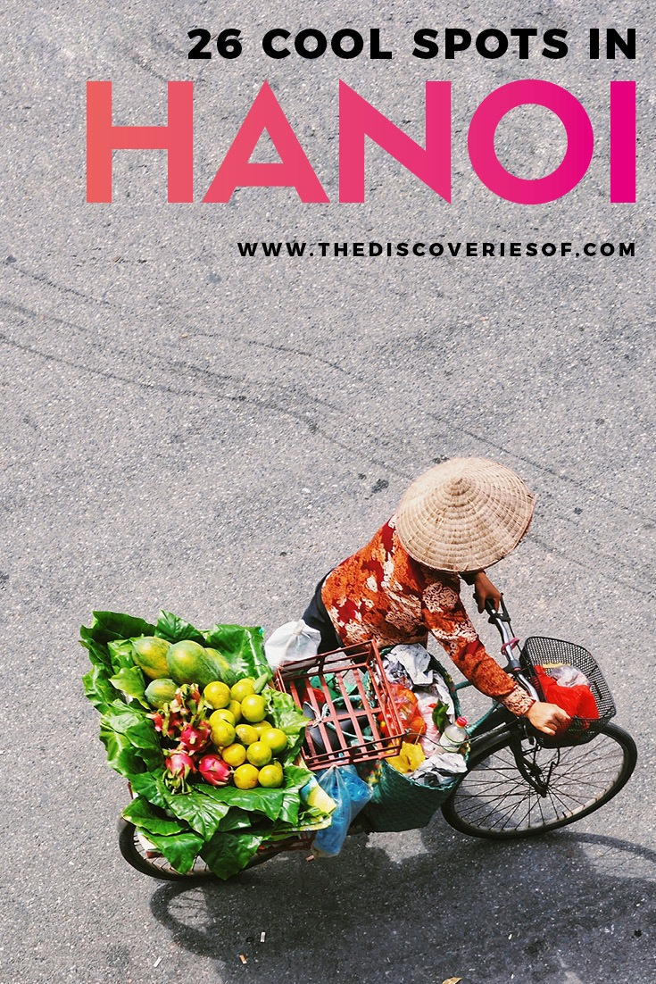 Hanoi, we're ready for you! Discover the best things to do in Hanoi, Vietnam with this cool guide. What to do, see and eat in this loveable city. Read now #asia #travel #vietnam
