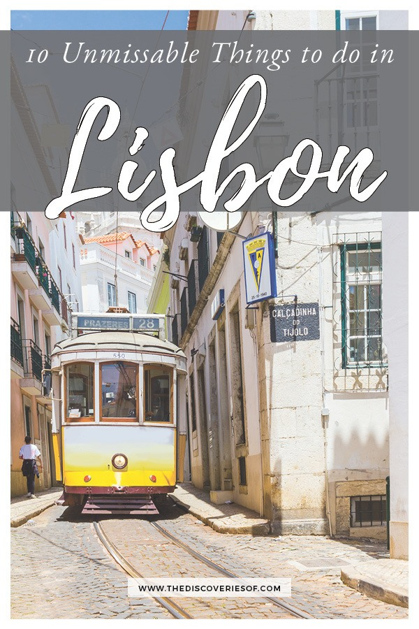Cool Things to do and see in Lisbon, Portugal. Don't miss them!