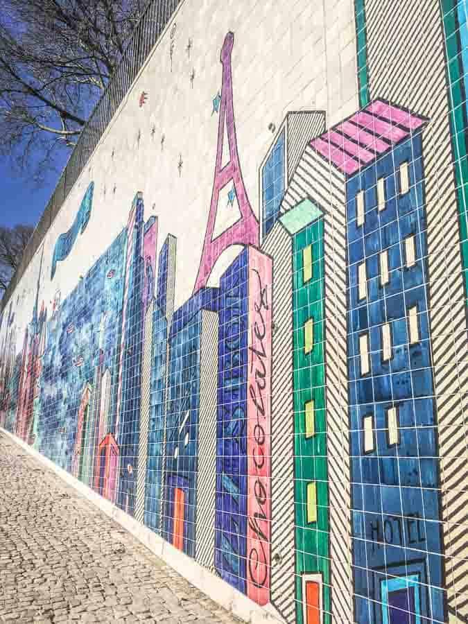 Andre Saraiva Mural Lisbon
