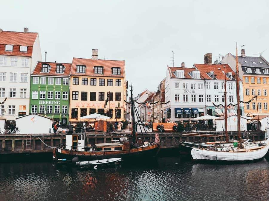Copenhagen in Winter - Nyhavn