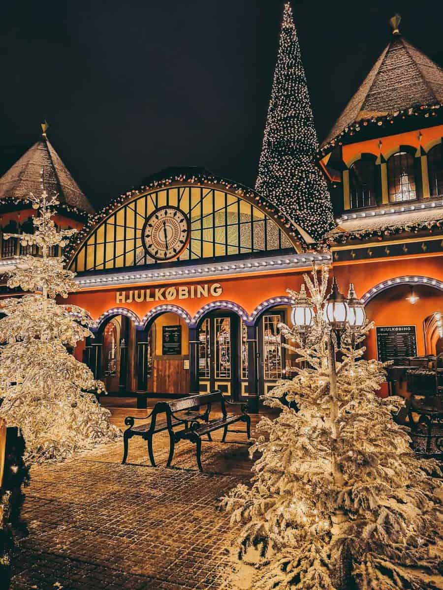 Tivoli in winter