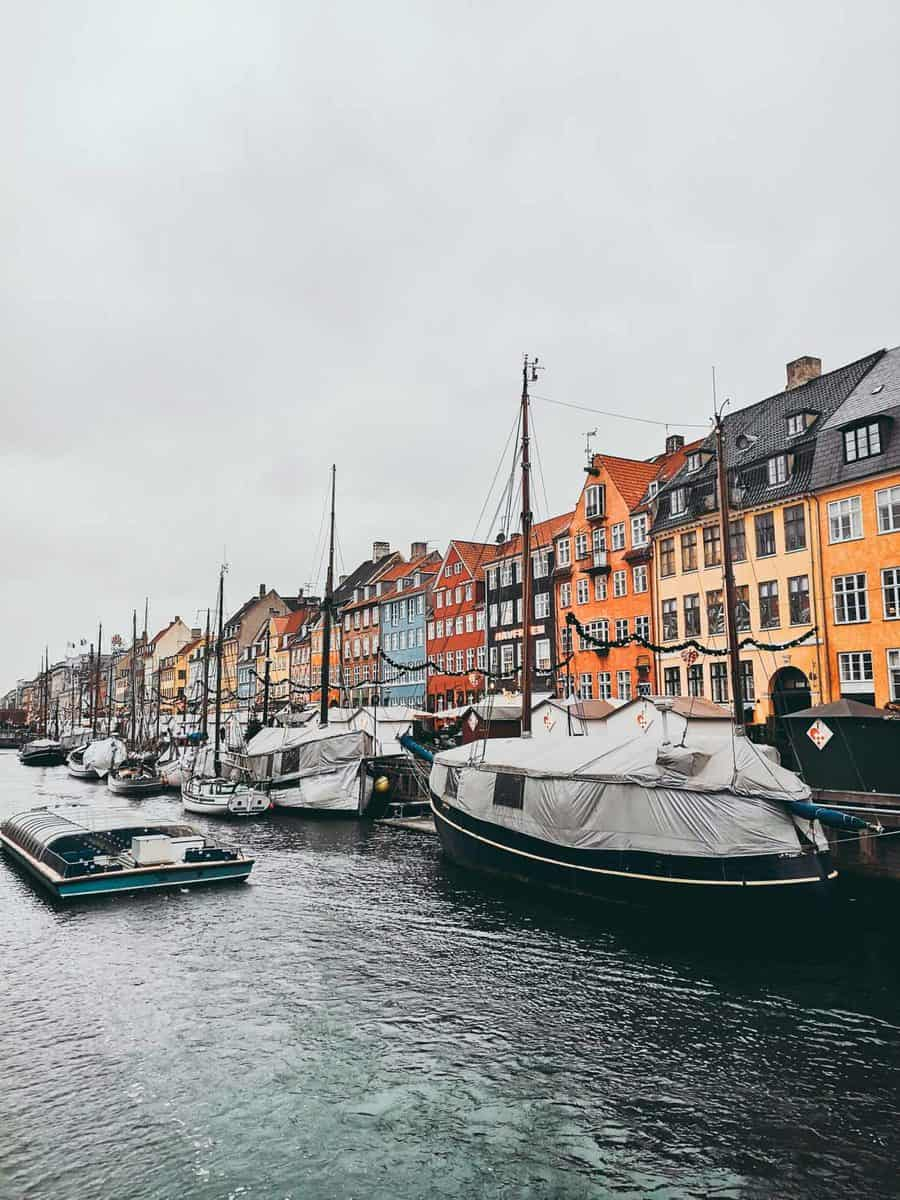 Nyhavn in winter