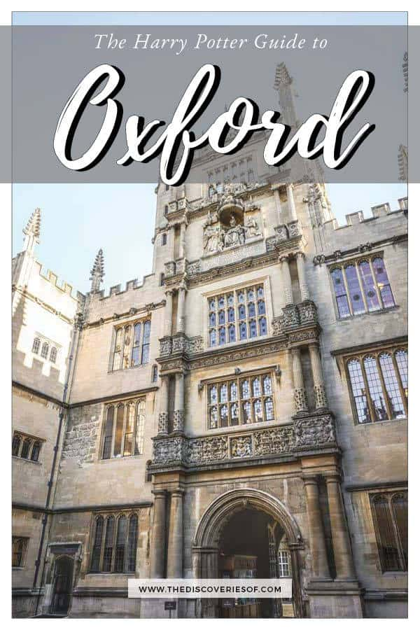 Harry Potter Oxford
