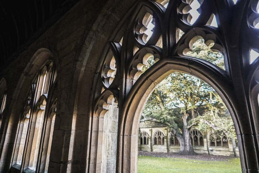 New College Cloisters - Harry Potter Filming Locations Oxford