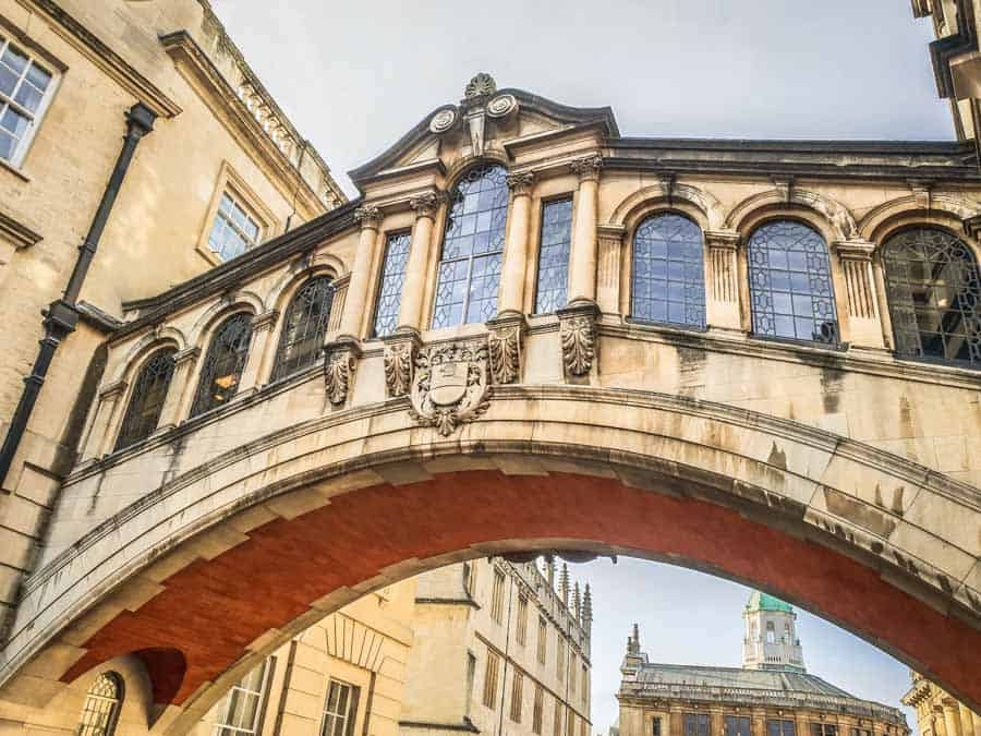 The Bridge of Sighs Oxford