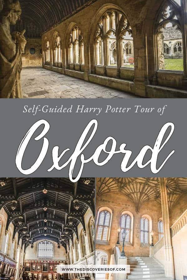 Oxford Harry Potter Tour