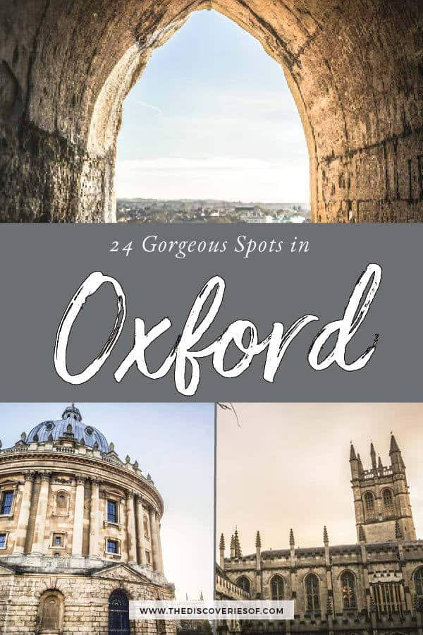 The Best things to do in Oxford
