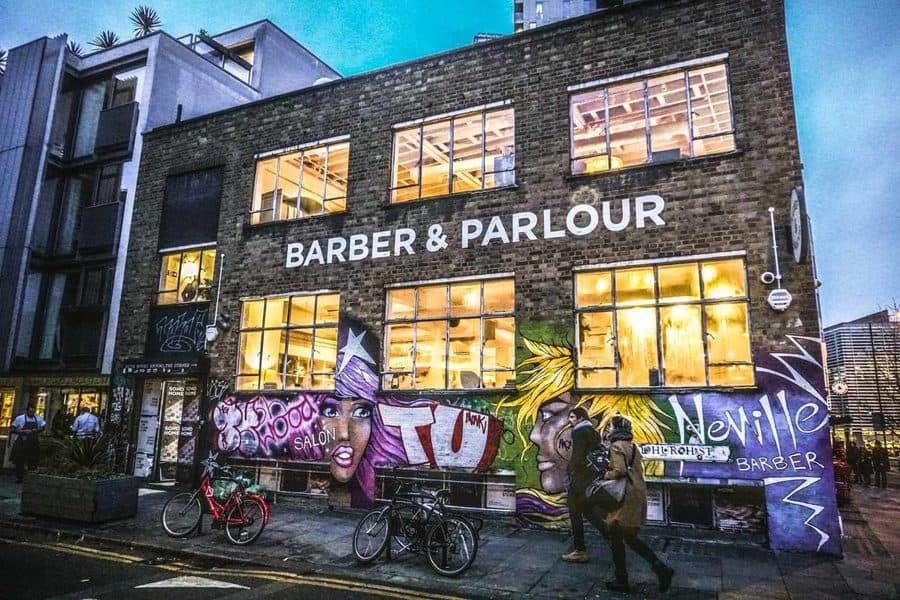 Barber & Parlour Shoreditch