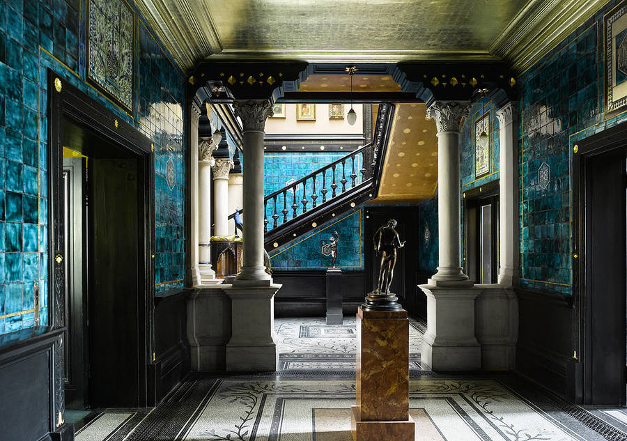The Narcissus Hall ©Leighton House Museum, RBKC. Image courtesy of Will Pryce