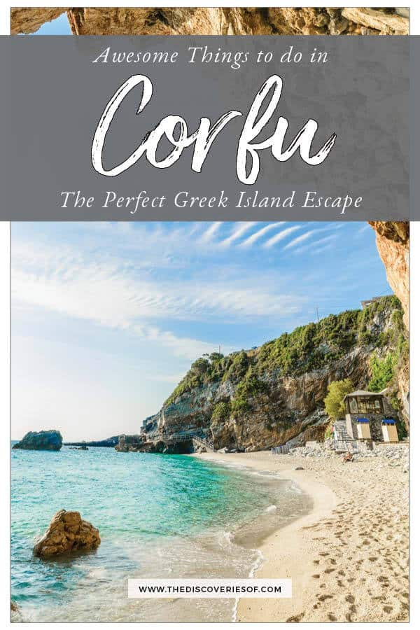 Things do in Corfu
