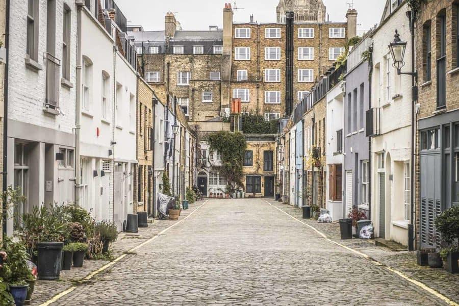 Unusual London - Leinster Mews