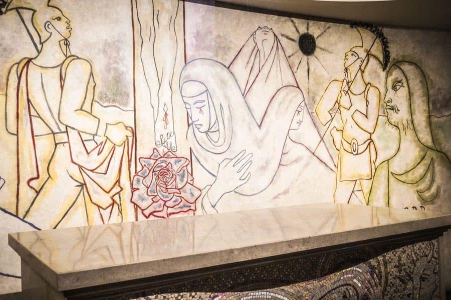 Jean Cocteau Murals Notre Dame de France
