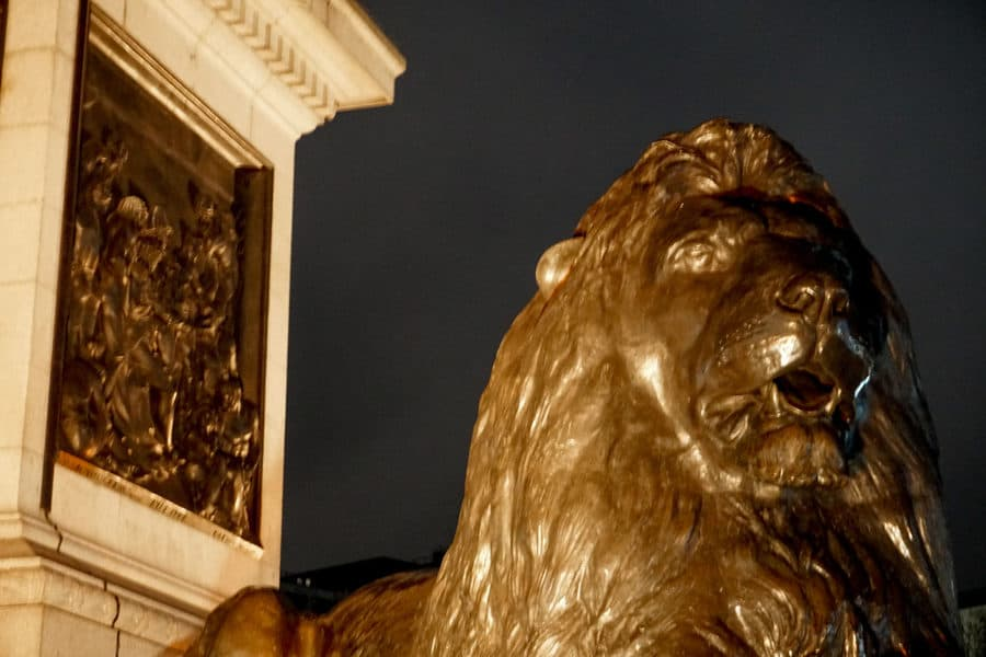 The Lions of Trafalgar Square