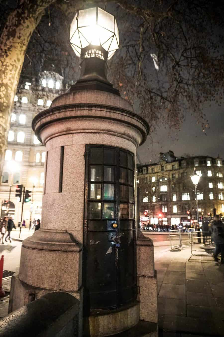 London's Smallest Police Station
