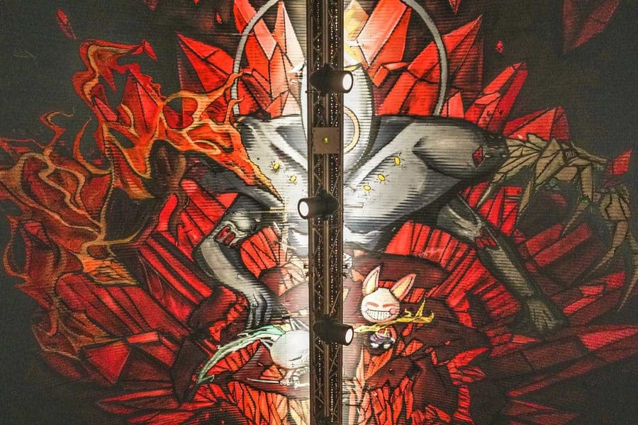 Street art in London's graffiti tunnel