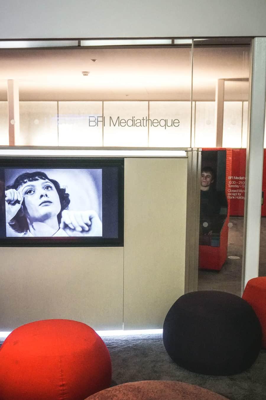 BFI Southbank Mediatheque
