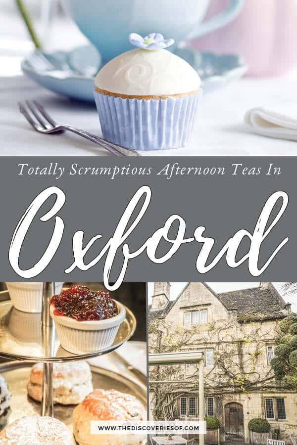 Cream teas Oxford