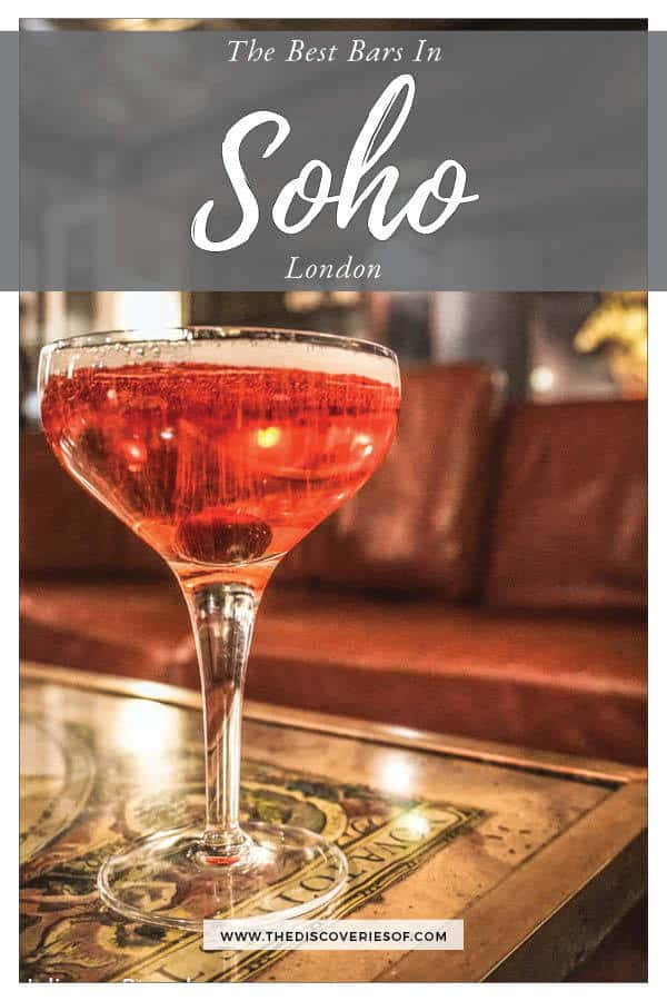 Best Bars in Soho London