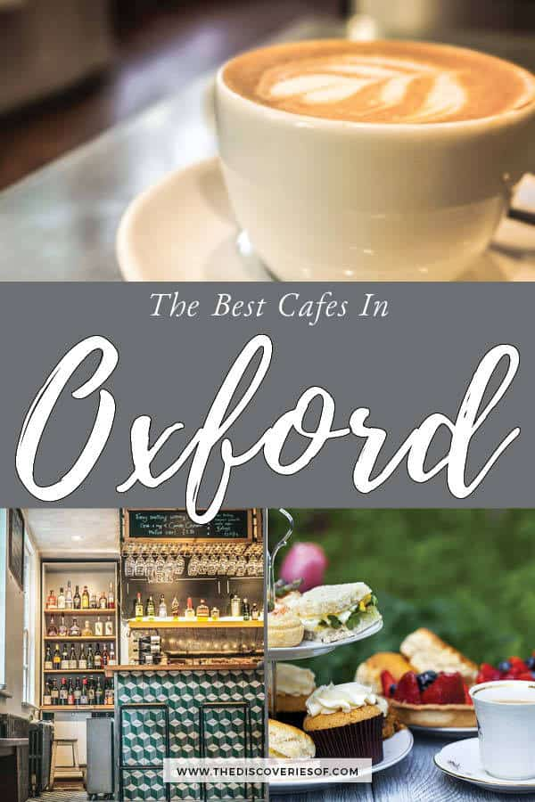 Cafes in Oxford