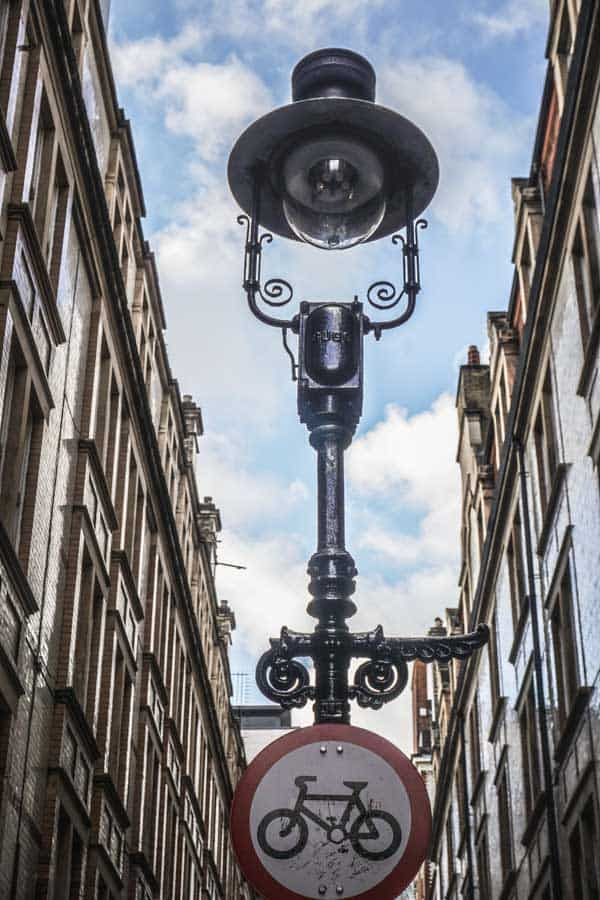 Gas Lamps Around Covent Garden