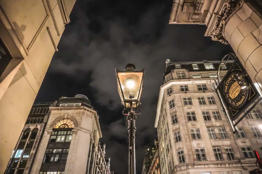Patent Sewer Ventilating Lamp