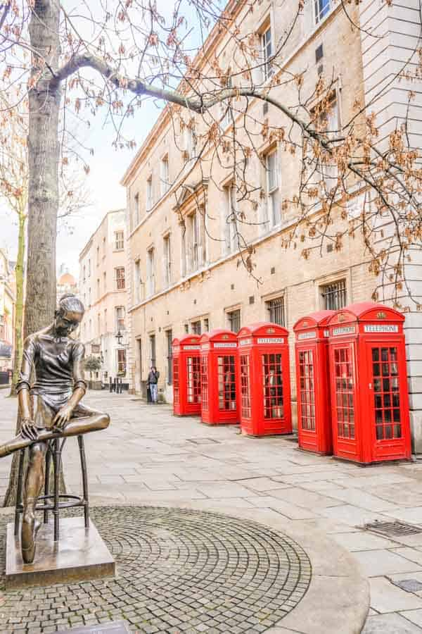 K2 Telephone Boxes Broad Court