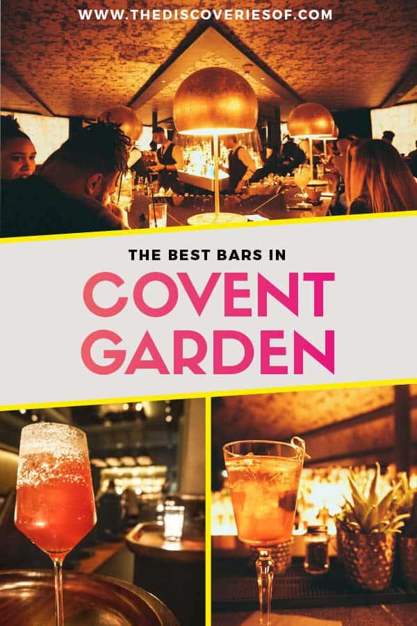 Best Bars Covent Garden