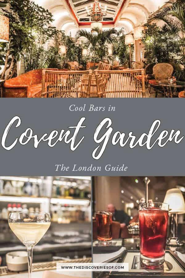 Covent Garden Bars