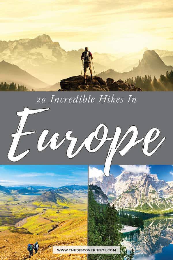 Best Hiking Destinations in Europe