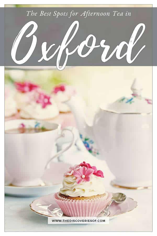 Afternoon teas Oxford