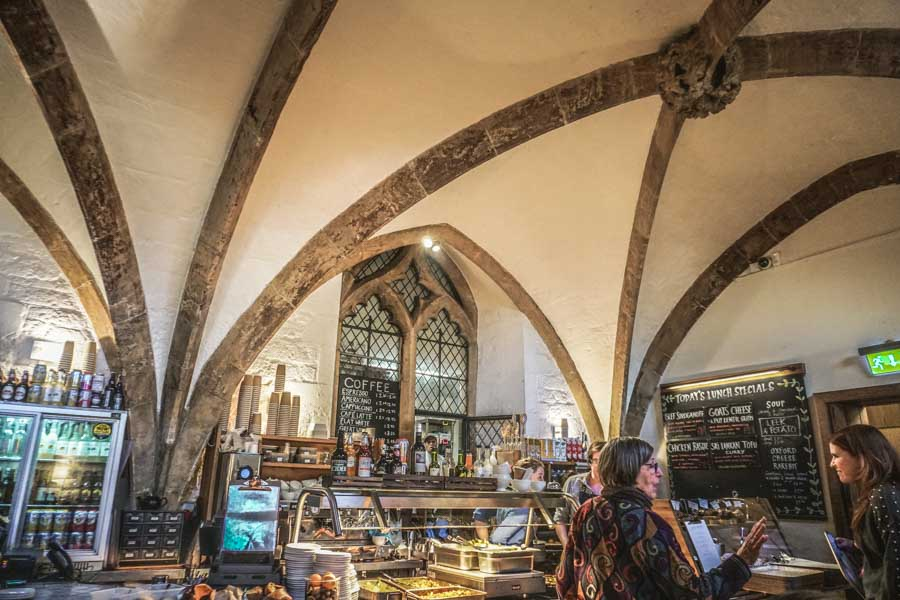 The Vaults Cafe Oxford
