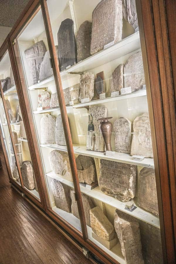 Collection in the Main Room